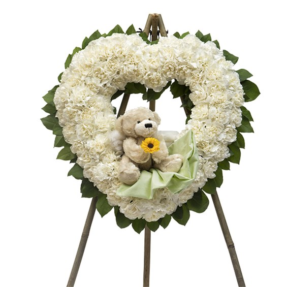 Open Heart Wreath - Infant